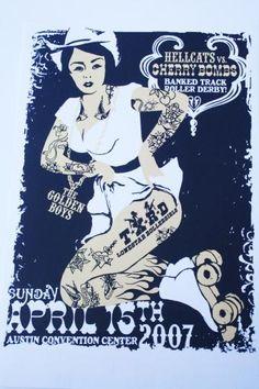 2007 Hellcats vs Cherry Bombs | Texas Roller Derby