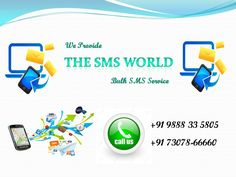 The SMS World provides cheapest bulk SMS service provider in India.