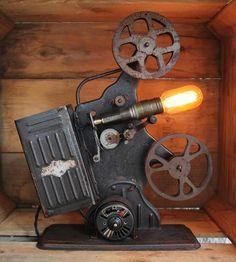 Vintage Projector Lamp II