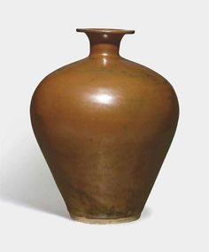 A very rare persimmon-glazed meiping, Northern Song dynasty (960-1127)