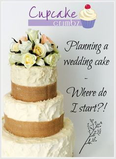 Planning a wedding cake – Where do I start? Cupcake Cakes, Cupcakes, Vanilla Cake, Wedding Cakes, Wedding Planning, Posts, How To Plan, Desserts, Blog