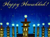 This Hanukkah, may you celebrate all of life's gifts... ...especially the ones that can't be wrapped. Click each tower to discover special blessings to keep in mind on each of Hanukkah's eight wondrous nights! Click anywhere to begin. Light   Laughter   Lore   Latkes   Love   Learning   Liberty   Lots of Fun!   Happy Hanukkah!