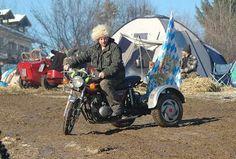 Kawasaki-Trike-Umbau auf dem Elefantentreffen 2011.