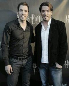 Drew and Jonathan Scott (Property Brothers)