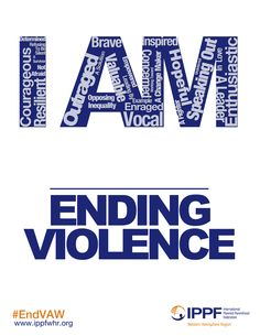 I Am...Ending Violence. #EndVAW #CSW57
