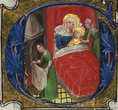 Missal of Eberhard von Greiffenklau, Birth of the Virgin, Walters Manuscript W.174, fol. 204v | Flickr - Photo Sharing!