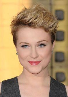Evan Rachel Wood - Inspiring Short Hair Styles 2011