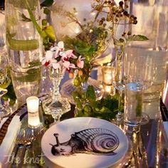 """The Knot - mabmeghan's Inspiration Board - """"tablescapes"""""""