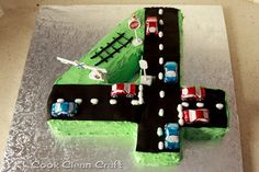 Number 4 Birthday Cake (6)