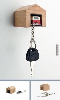 A garage for your car keys