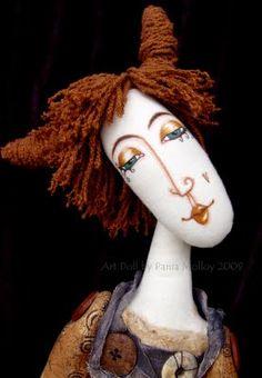 Baptista art doll by Pania Molloy