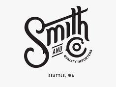 Smith and Co. by Jason Johnson #Design Popular #Dribbble #shots