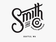 Smith and Co. by Jason Johnson #Design Popular #Dribbble #shots