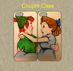 iphone 5c case,iphone 5c cases,iphone 5s case,cool iphone 5c case,cute iphone 5s case,iphone 5 case--peter pan and wendy,in plastic. by Ministyle360, $28.99