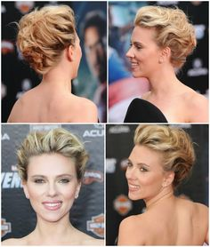 updo hairstyle for wedding <3