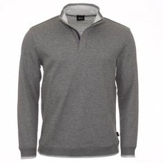 b6f60e32f Beautiful cotton top from Hugo Boss. Perfect for evenings and weekends Grey  Long Sleeve Tops