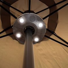 Parasol Light with Wireless Speakers Unique Gifts For Him, Presents For Men, Gadget Gifts, Wireless Speakers, Summer Collection, Ceiling Fan, Gadgets, Garden, Garten