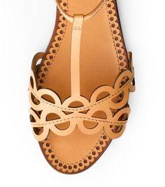 Aileen Flat Sandal   Womens Sandals   ToryBurch.com