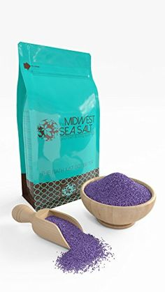 Lavender Dreams Mediterranean Sea Bath Salt Soak - 5lb (Bulk) - Fine Grain