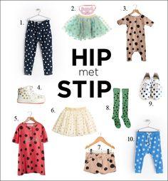 #Stippen #Zara #Billie Blush #Bobo Choses #H&M #Kiiroiki #Kidsfashion #Kindermodeblog #Summer2014