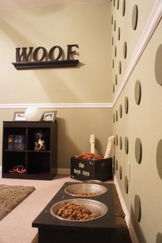 Doggie bedroom  | Dog Room Design Ideas, Pictures, Remodel, and Decor