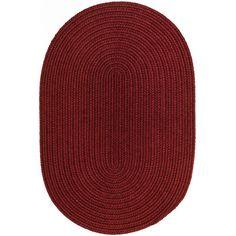 The Conestoga Trading Co. Handmade Barn Red Area Rug Rug Size: 10' x 13'