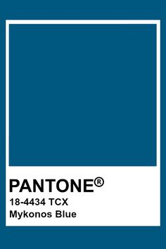 Bleu Pantone, Pantone Tcx, Pantone Swatches, Color Swatches, Pantone Colour Palettes, Pantone Color, Colour Pallete, Color Schemes, Color Combinations