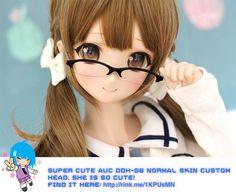 Super cute AUC DDH-06 normal skin custom head. Lovely!   #rinkya #japan #cute…
