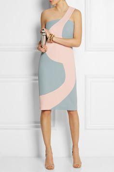 Alexander Lewis|Birdie wool-crepe dress|NET-A-PORTER.COM