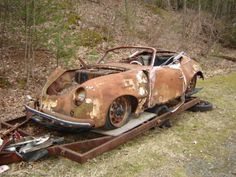 356 Cabriolet Porsche 356, Porsche Cars, Automobile, Car Barn, Rust In Peace, Rusty Cars, Cabriolet, Abandoned Cars, World Photography