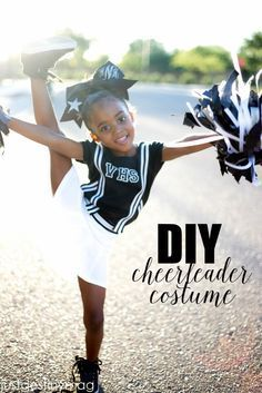 Looking for an easy Halloween costume? MichaelsMakers Just Destiny Mag explains how to make a simple DIY cheerleader costume from supplies from Michaels!