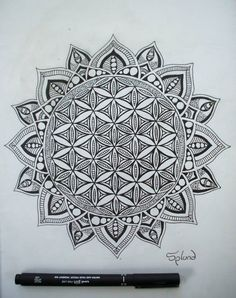 Flower Of Life Mandala by Splund-Art on DeviantArt