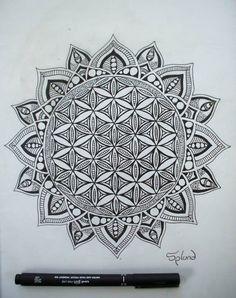Flower Of Life Mandala by Splund-Art on DeviantArt …