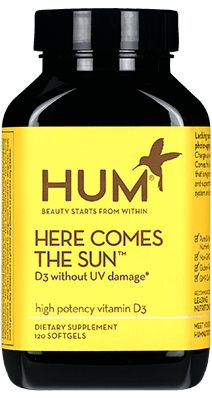 Here Comes the Sun - HUM Nutrition Beauty Vitamins & Supplements