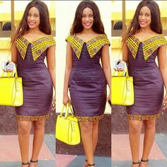 office chitenge dresses for women 2020 ⋆ African Fashion Ankara, African Inspired Fashion, Latest African Fashion Dresses, African Print Dresses, African Dresses For Women, African Print Fashion, Africa Fashion, African Attire, African Wear