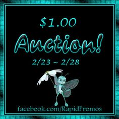 $1.00 Auction is Now Open!! Check out all the great items up for bids! https://www.facebook.com/RapidPromos/photos/a.463792467054545.1073741839.180863848680743/463792480387877/?type=3&theater