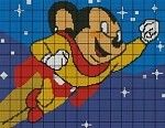 Mighty Mouse Crochet Pattern