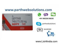 Geffy Gefitinib Tablets (250 mg) 10 Tablets - List4India.com %u2776 India Free Classifieds, No registration.