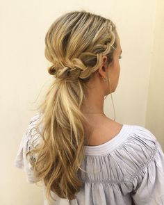 Gorgeous Ponytail Hairstyle Ideas That Will Leave You In FAB - ponytail wedding hairstyles #weddinghair #wedding #hairstyles #ponytail #bridehair #weddingideas