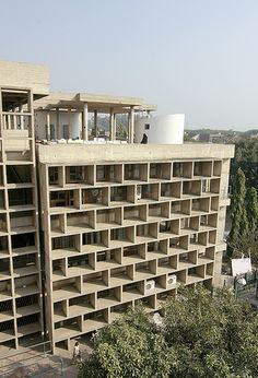 Palace of Justice, Chandigarh by Le Corbusier.