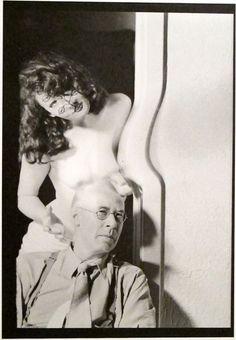 Man Ray: Henry Miller & Anais Nin, Hollywood, 1945