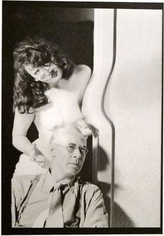 To be a poet of life, though artists seldom realize it, is the summum. To breathe out more than one breathes in. ~ Henry Miller ..... photo by Man Ray - Henry Miller and Margaret Neiman, Hollywood, 1945.