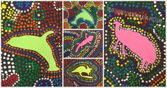 """3rd Grade's Elementary Art curriculum of world cultures allowed me to """"travel"""" with them to Australia to learn about the country and create ..."""
