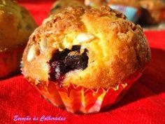 Muffins de Mirtilo e Banana
