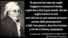#Casanova #massoneria