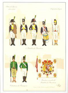 Spain; 2nd Batallion of Barcelona and the Volunteers of Tarragona