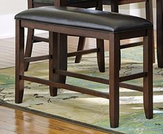 Coaster 105477 Home Furnishings Bench Dark Cherry >>> undefined #KitchenDiningRoomFurnitures