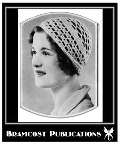 BLOG.BRAMCOSTPUBLICATIONS.COM: Ring in a Vintage New Year (Day 3, 2012): Vintage 1930s Open Lace Crochet Hat Pattern