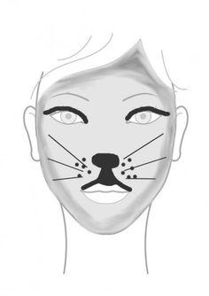 maquillage souris etape 6