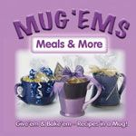meals and more in a mug - find cup recipes, add ingredients to cups (wrapped), and to a cute cup and attach recipe.